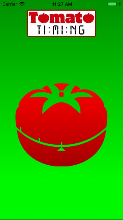 Tomato Timing Backup Timer