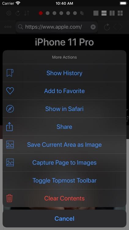 Dual - Multi Screen WebBrowser screenshot-5