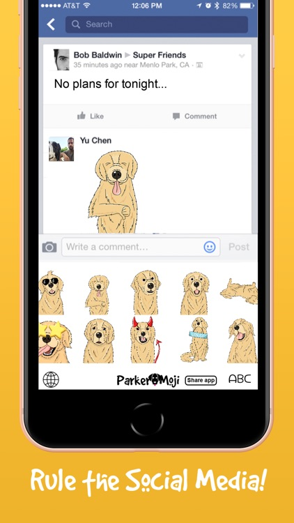 ParkerMoji - Golden Retriever screenshot-4