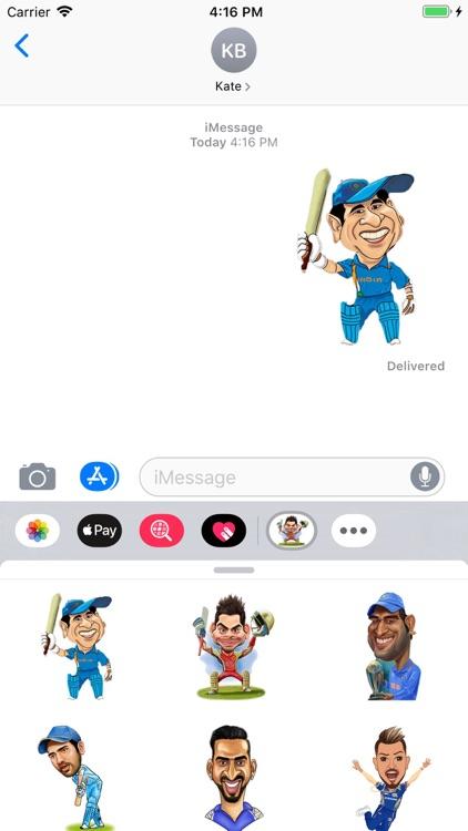 Cricket Stickers Pack screenshot-4