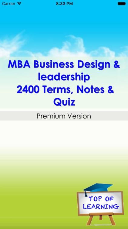 The MBA Encyclopedia 22 topics screenshot-4