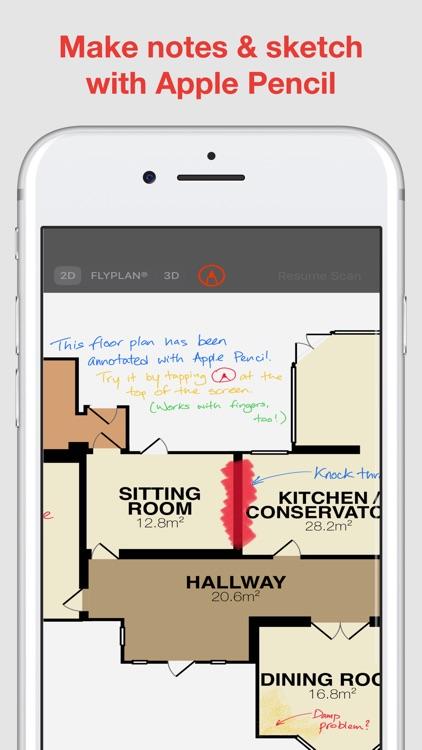RoomScan Pro – floor plan app
