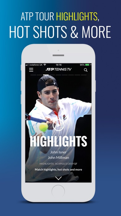 Screenshot for Tennis TV - Live Streaming in Chile App Store