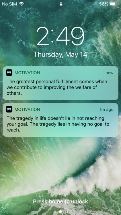Motivation, Daily Quote Widget screenshot-8