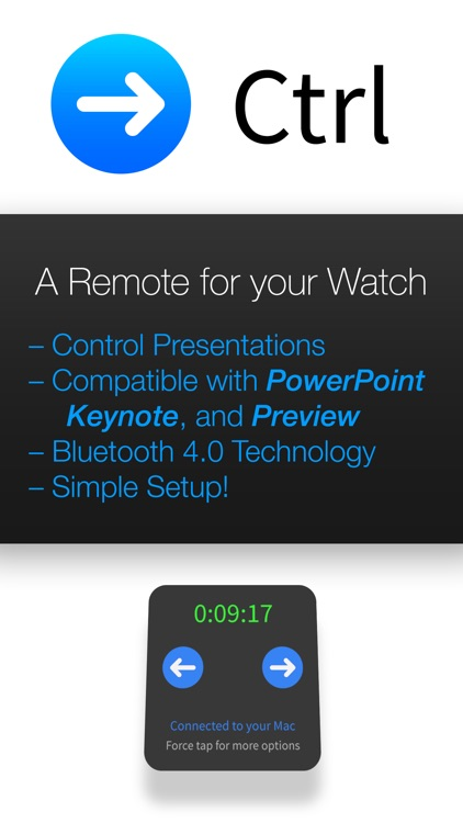 Ctrl ~ A Remote for your Watch