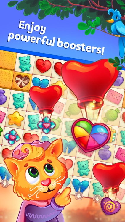 Sweet Hearts Match 3 screenshot-0