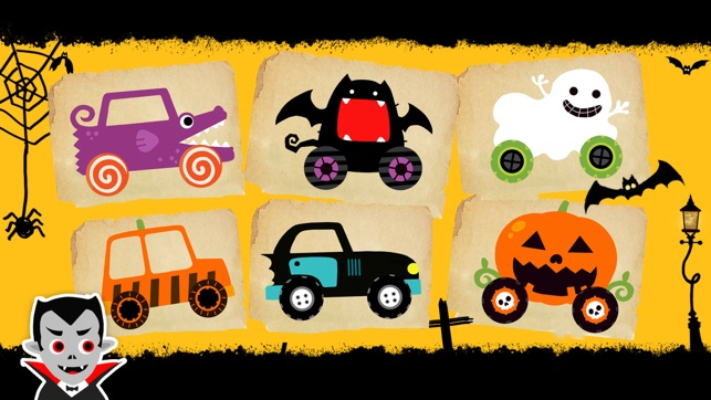 Labo Halloween Car(4+) Screenshot