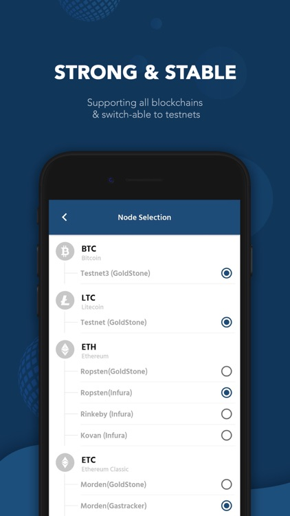 GoldStone - Cryptocurrency screenshot-4
