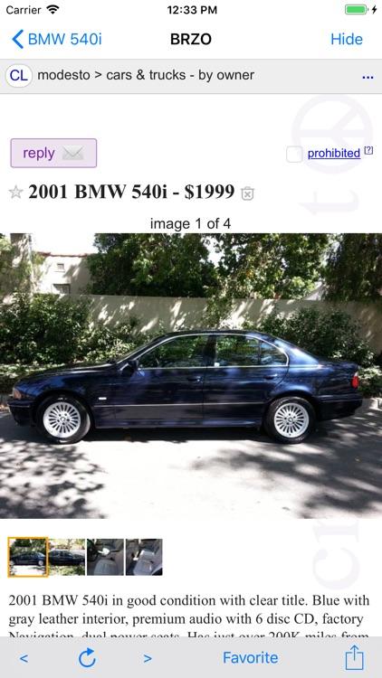 BRZO - Used Cars on Craigslist screenshot-0