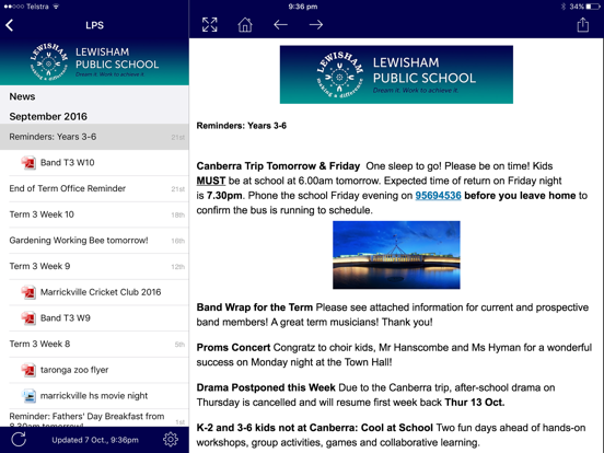 Lewisham Public School - Enews | App Price Drops