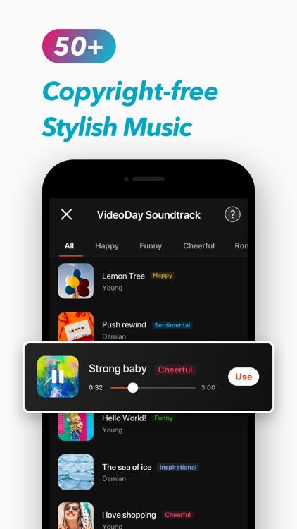 Video Maker VideoDay screenshot-4