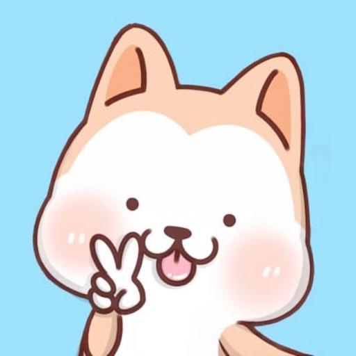 Hachi:Akita Dog Animated Emoji