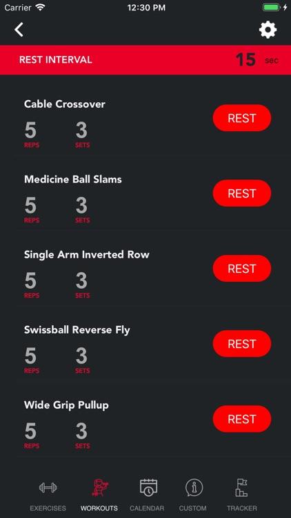 Weight Lift Log & Gym Tracker screenshot-3