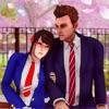 日本动画片 学校 女孩 扬德 生活