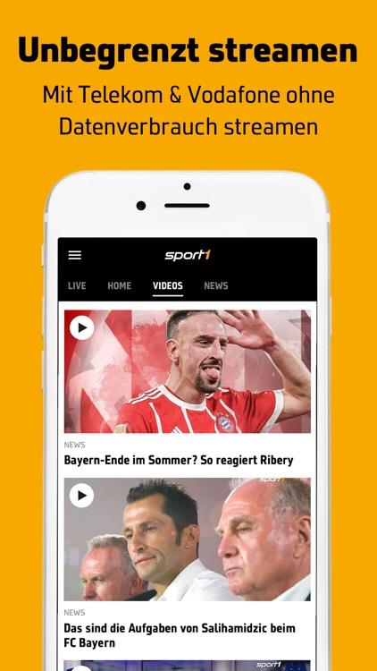 SPORT1: Sport & Fußball News screenshot-3