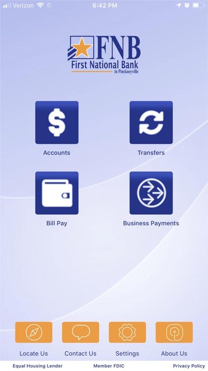FNB Pville Mobile App Business