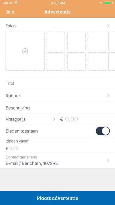 Marktplaats - koop en verkoop
