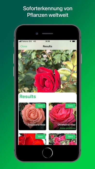Screenshot for Plantsnap - Pflanzen bestimmen in Germany App Store