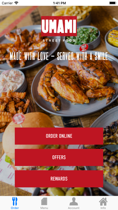 Umami Street Food screenshot one
