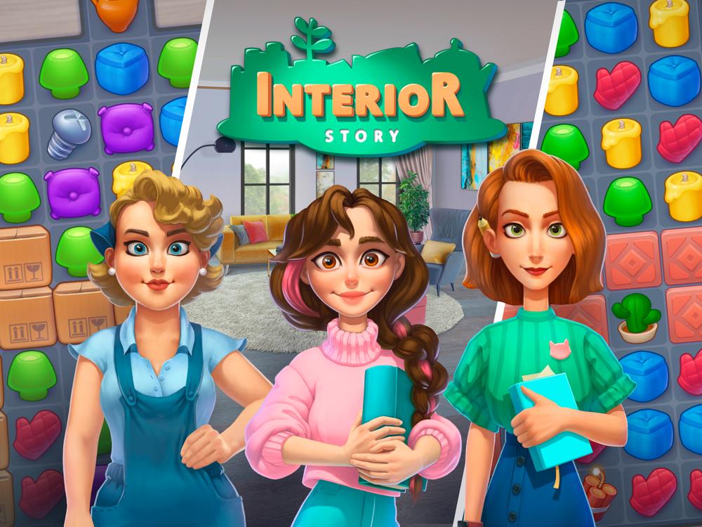 Resultado de imagem para Interior Story: designing game