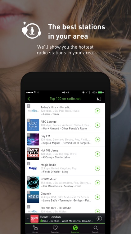 radio.net - Live FM radio app screenshot-3