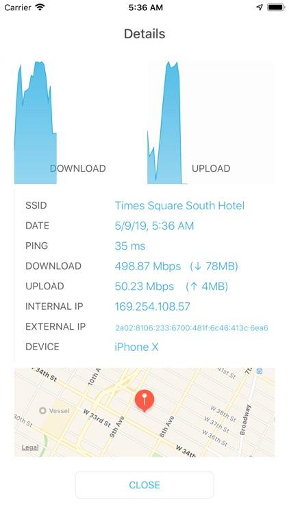 Speedcheck Internet Speed Test screenshot-4
