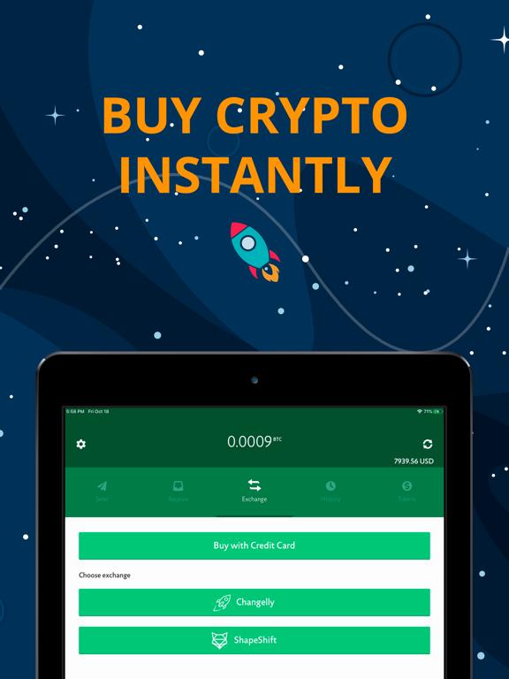 CoinSpace Bitcoin Wallet screenshot
