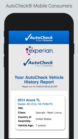 Autocheck Mobile Consumers On The App Store