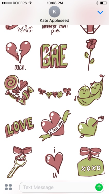 Adore Stickers - more stickers