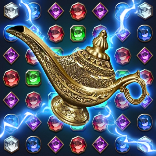 Jewels Magic Lamp