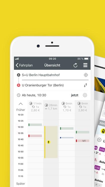 BVG FahrInfo Plus Berlin