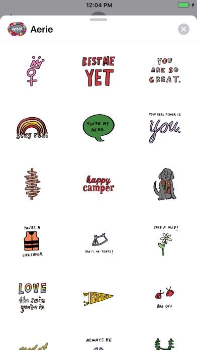 Aerie Stickers