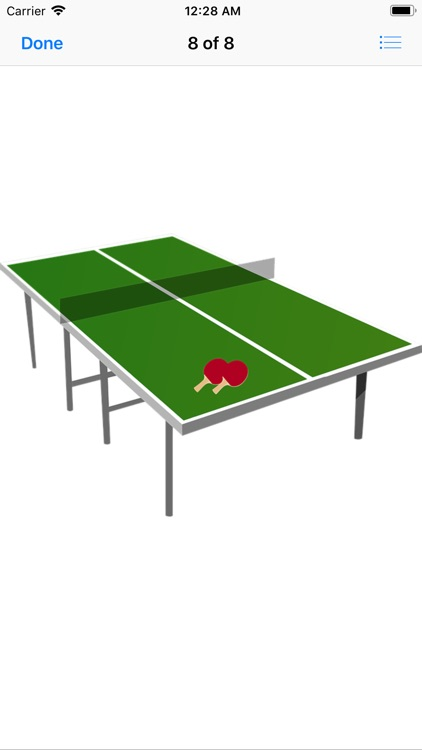 Play Ping Pong Stickers