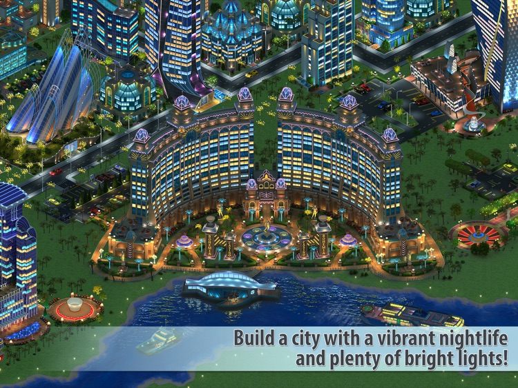 Megapolis HD: city building screenshot-3