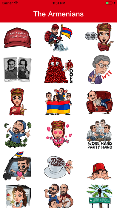 Screenshot for The Armenians in United States App Store