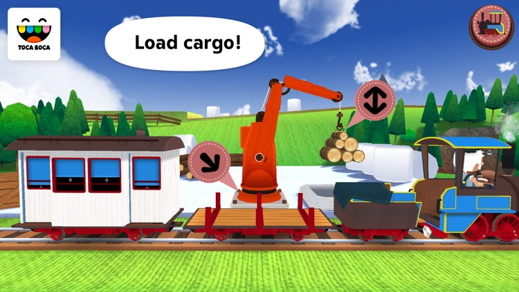 Toca Train screenshot-3