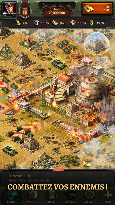 Screenshot #3 pour World at War: WW2 Strategy MMO