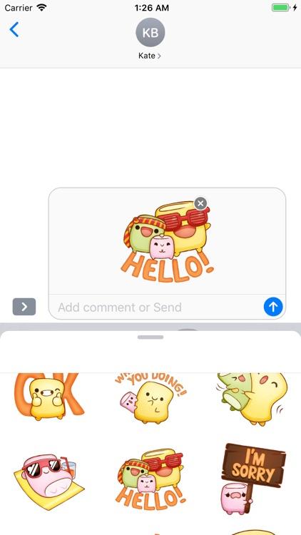 Marshmallow Emoji Stickers screenshot-5
