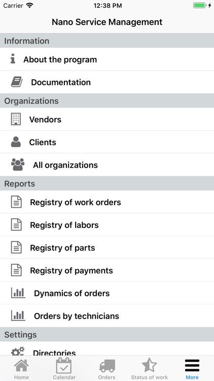 Nano Service Management screenshot-8