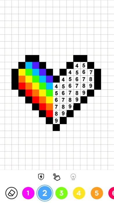 Colors by Number® – No.Draw® Screenshot