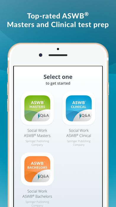 ASWB Social Work Exam Prep Screenshot