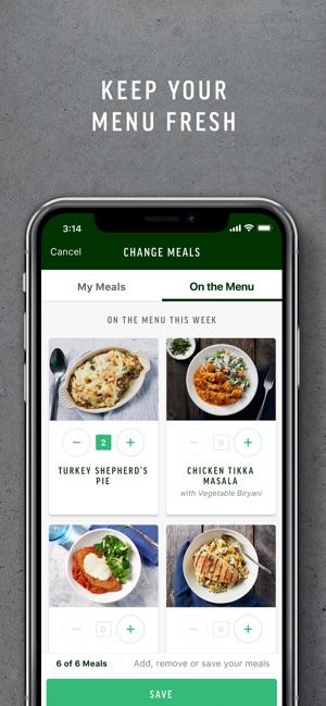 kind meals app