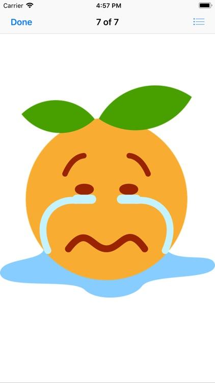 Clementine Stickers screenshot-7