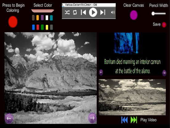 The Alamo- Coloring and Audio screenshot 4
