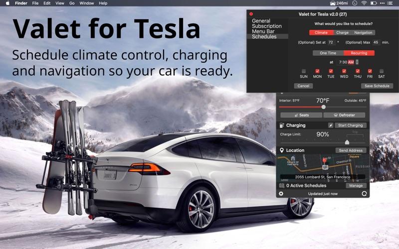 Valet - Car Control and Viewer скриншот программы 3