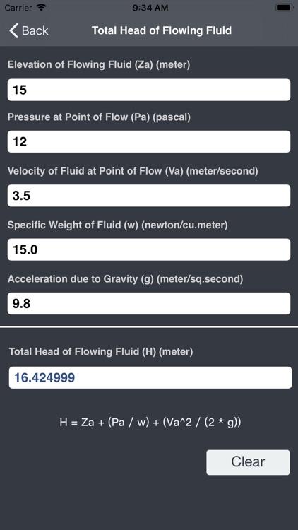 Hydraulics and Waterworks Calc screenshot-7