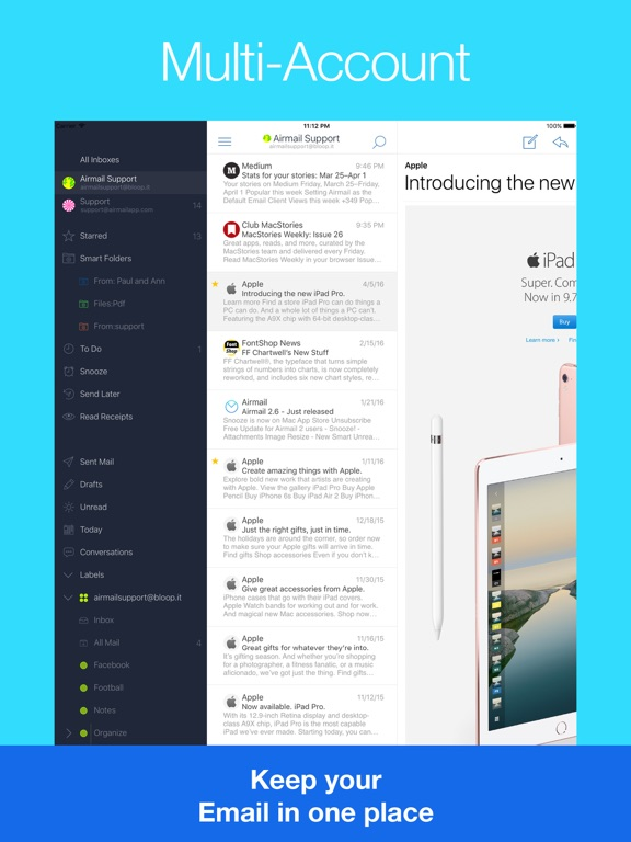 Airmail - Your Mail With You Screenshots