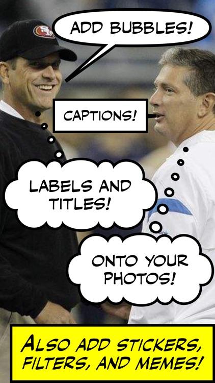 Comic Caption Meme Maker screenshot-0