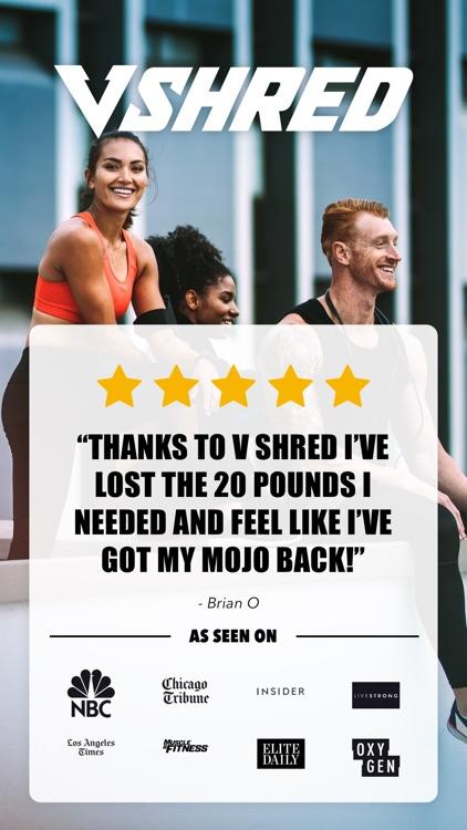 V Shred: Diet & Fitness