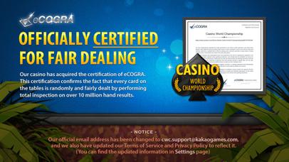 Casino World Championship screenshot 2